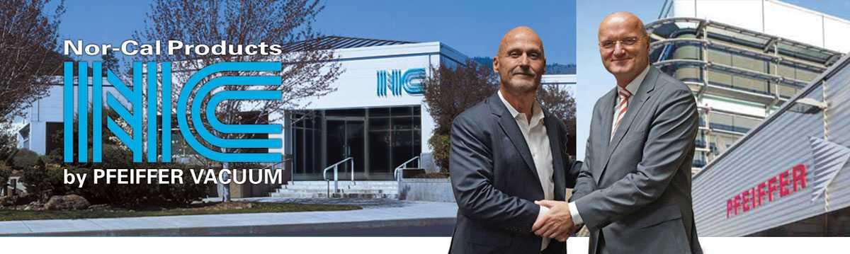 Nor-Cal es ahora una división de Pfeiffer Vacuum Technology AG